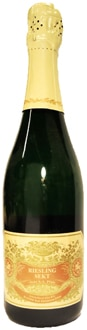 Fitz-Ritter Riesling Extra Trocken Sekt NV, one of our Top 10 Sparkling Wines, is easy-drinkin