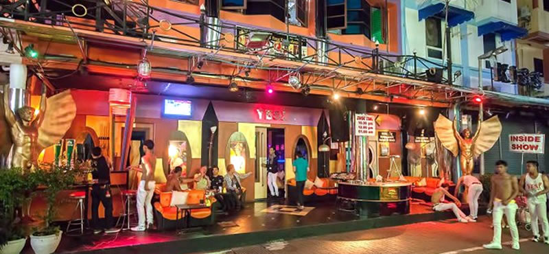 YES! Bar, gay bar Phuket