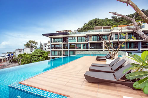 skypool seaview Apartment in Phuket