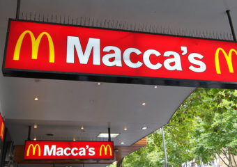 Macca's Sign