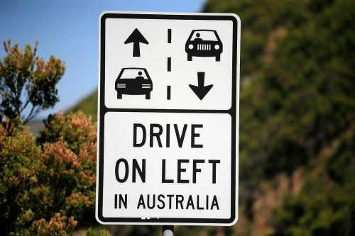 Driving on Left Side of Road
