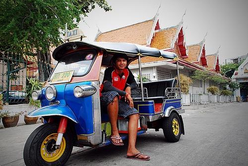 Tuk Tuk Driver Scam