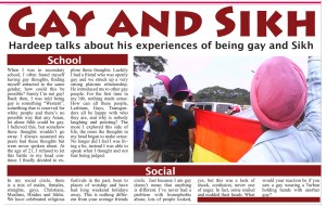 Gay Sikh article in The Asian World