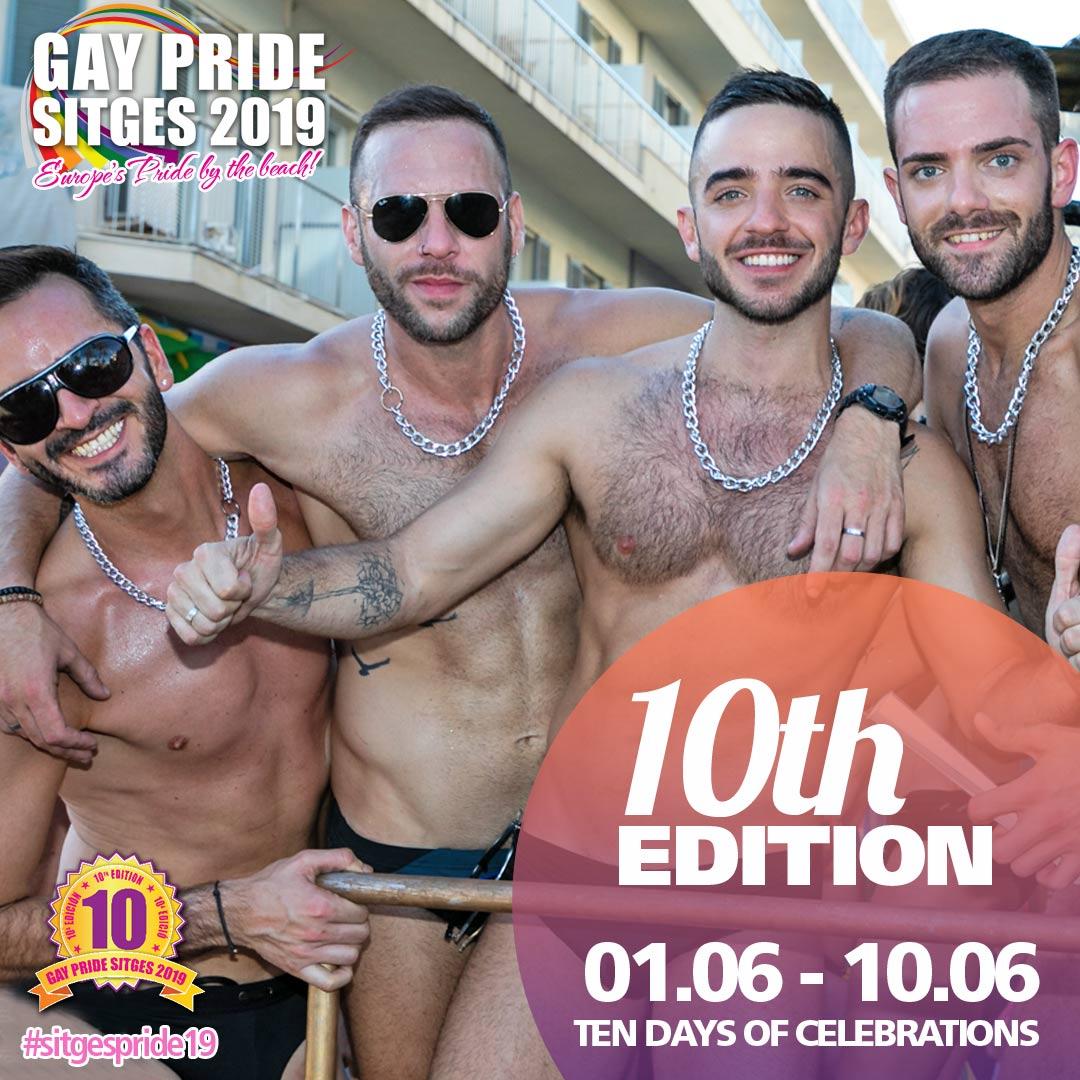 Sitges Pride 10th Edition