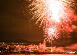 Santa Tecla Sitges Fireworks