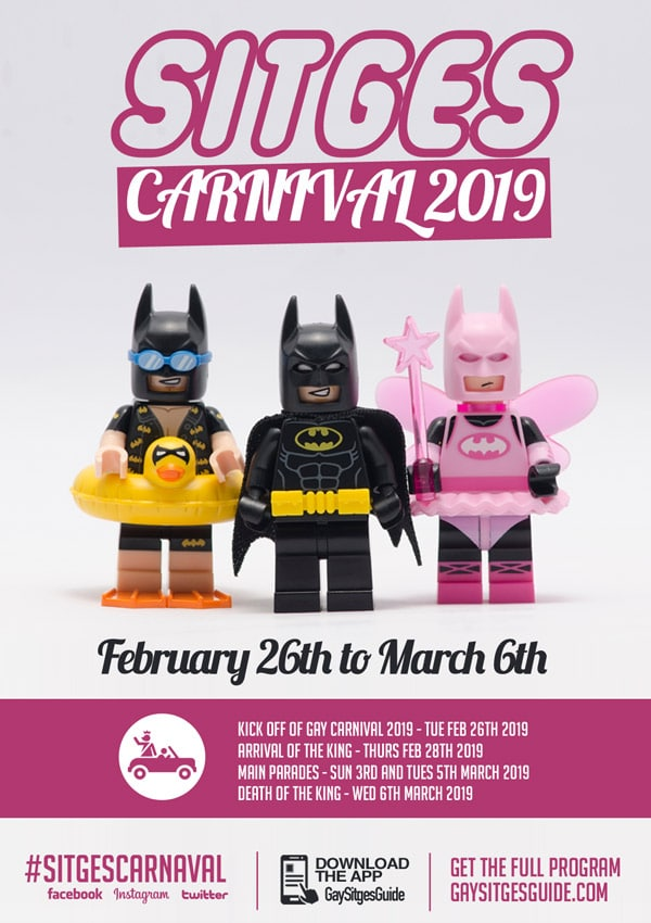 Sitges Carnival dates 2019