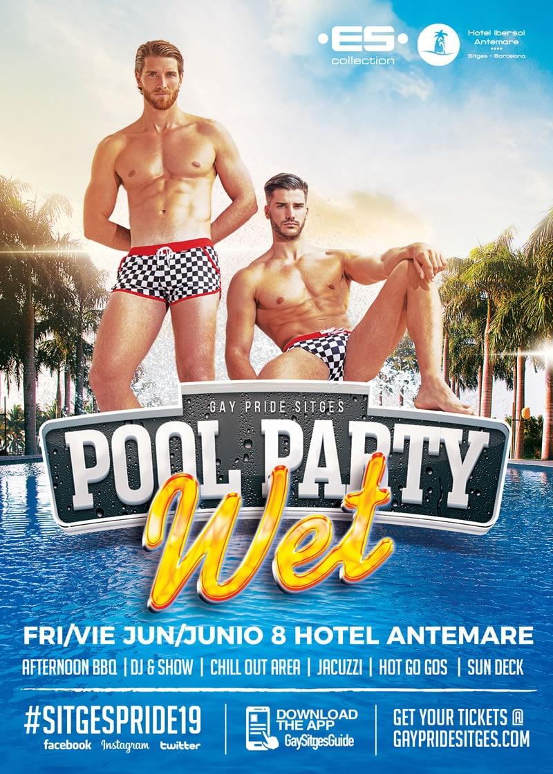 Sitges Pride Pool Party