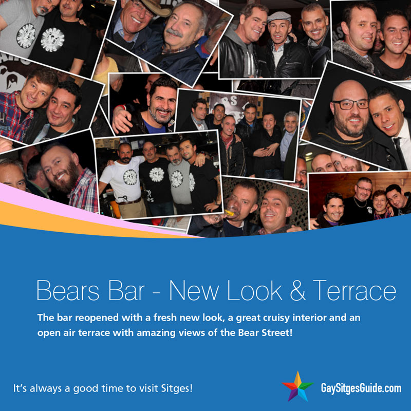 Bears Bar Sitges reopens
