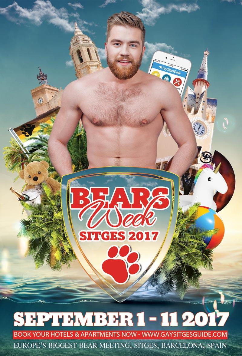 Sitges Bears Week 2017
