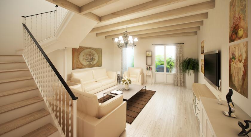 sitges centre beach house
