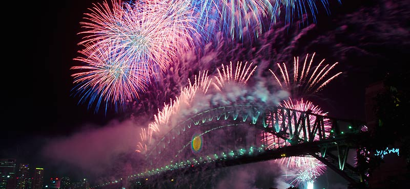 New years Eve in Sydney Fireworks