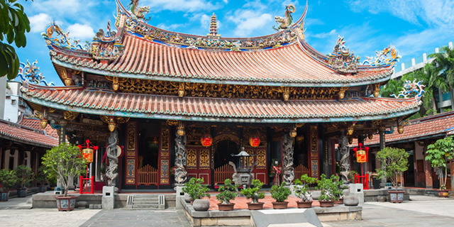 Taipei Attractions, Longshan Temple