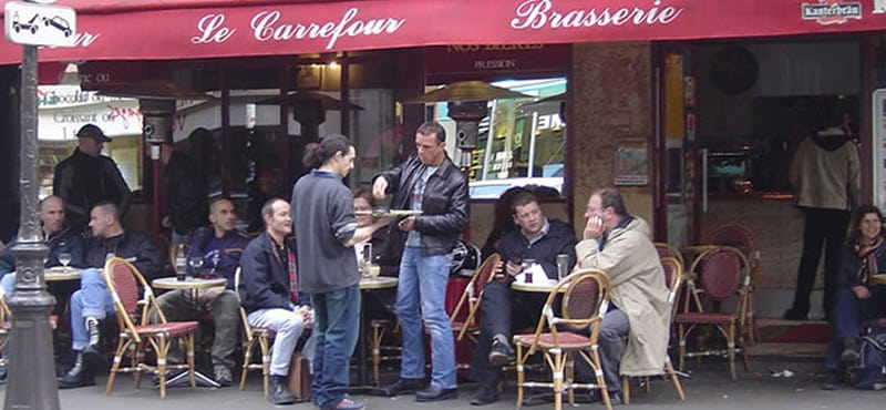 Café Le Carrefour gay bar Paris