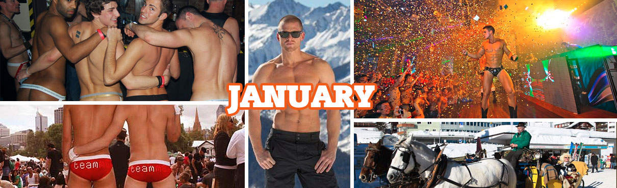 Gay Events in January