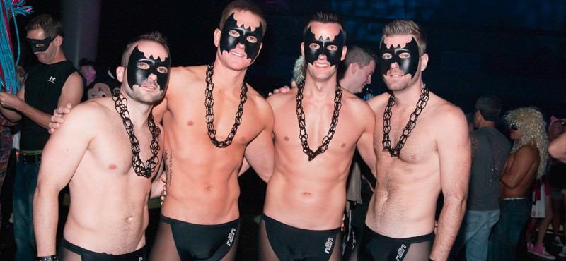 Gay Halloween in New Orleans means party time, a chance to dress up