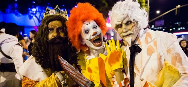 Halloween Carnival WeHO! Los Angeles 500,000 take to the streets
