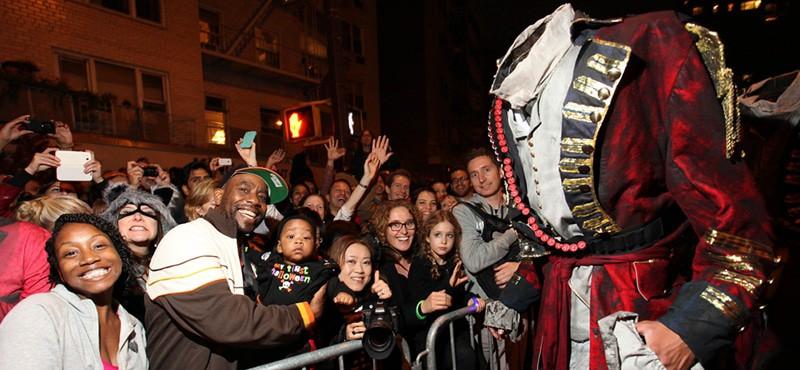 Village Halloween Parade New York spookiest procession