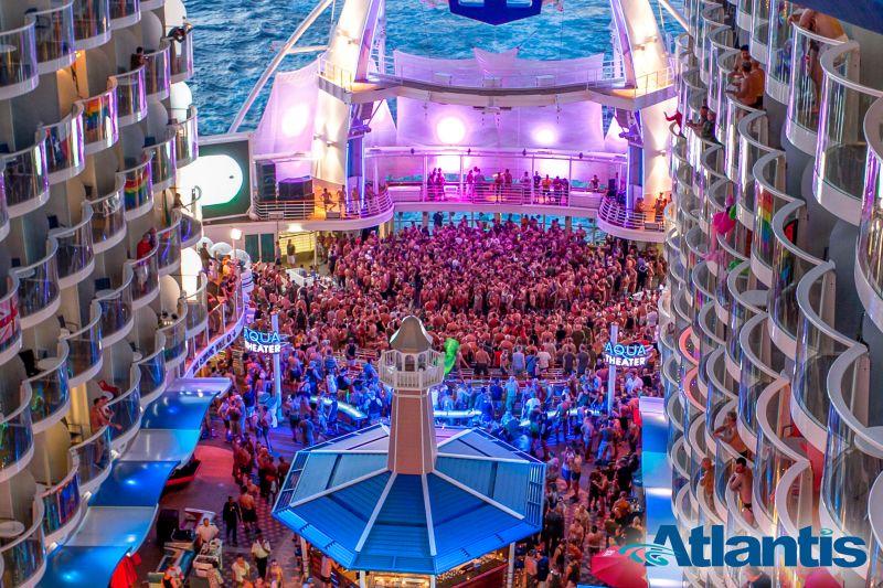 Atlantis Balkonkabinen innen Gay