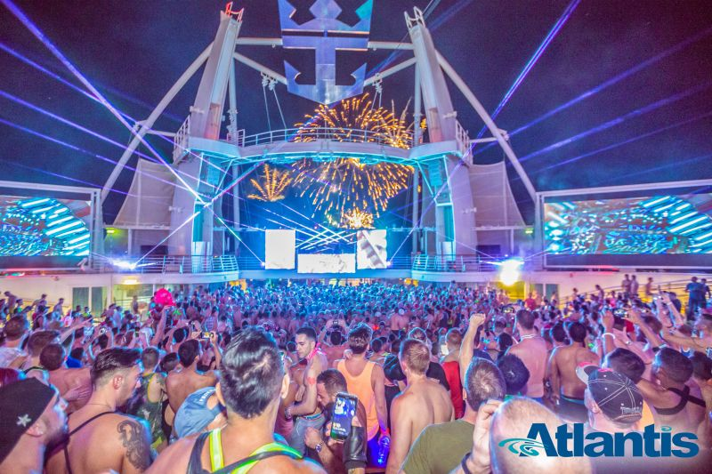 Atlantis Gay Kreuzfahrt Parties