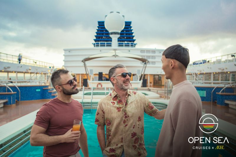 Open Sea Gay Cruise Axel