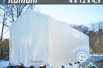 Capannone tenda barche Titanium 4 x 12 x 4,5 m