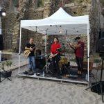 il gazebo del gruppo musicale
