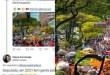 """Deputado petista publica foto """"fake"""" de manifestação esquerdista, é desmascarado e sai de fininho"""