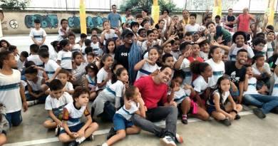 Ator, ativista cultural e arte educador inicia ciclo de palestras sobre Bullying no SESC de São Gonçalo