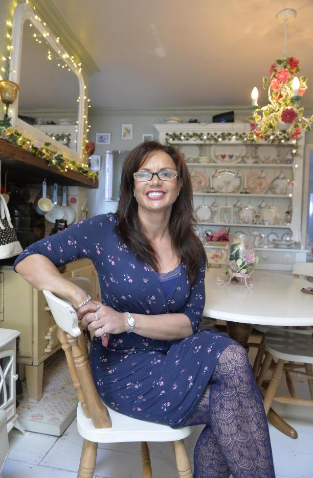 Gazette Depression Councillor Sarah Jay At Her Home In Thorpe