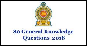 80 General Knowledge Questions - 2018