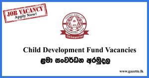 Child-Development-Fund-Vacancies