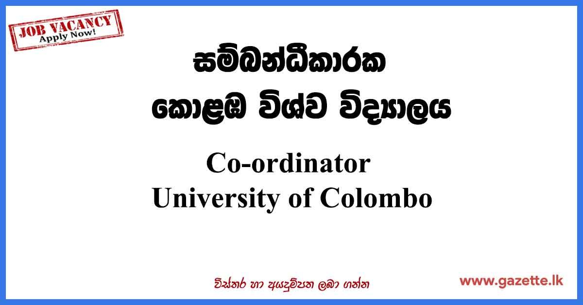 Co-ordinator-UOC
