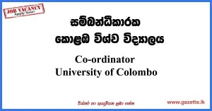 Co-ordinator-UOC