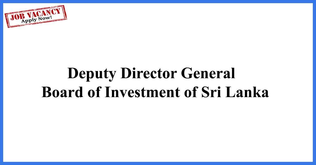 Deputy-Director-General