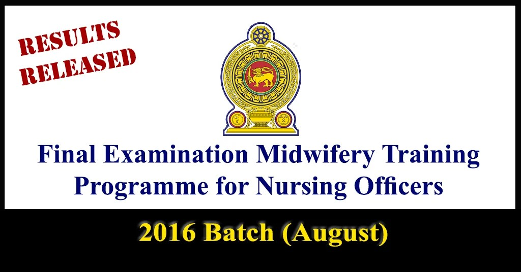 Final Examination Midwifery Training Programme for Nursing