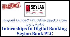 Internships In Digital Banking - Seylan Bank PLC