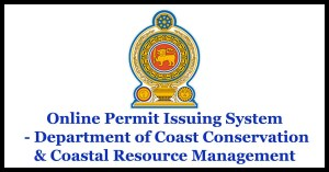 Online Permit Issuing System - Department of Coast Conservation & Coastal Resource Management
