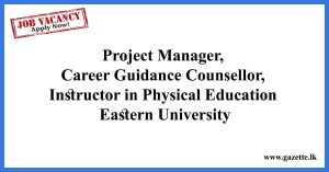 Project-Manager-Eastern-University