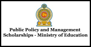Public Policy and Management Scholarships - Ministry of Education