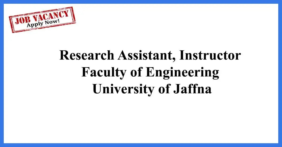 Research-Assistant,-Instructor-University-of-Jaffna