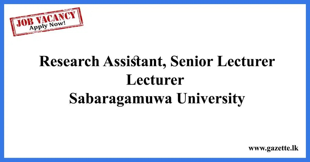 Research-Assistant,-Senior-Lecturer