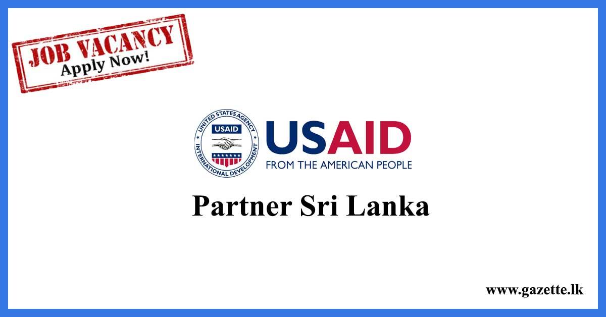 USAID-Partner-Sri-Lanka-Vacancies
