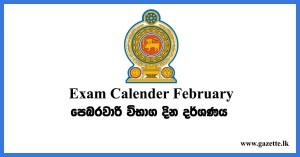 february exam timetable 2020