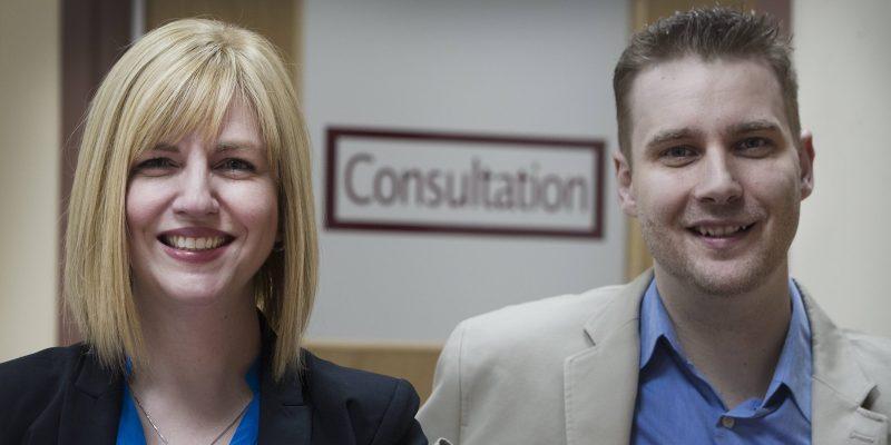 Dr. Debbie Kelly and Dr. Jason Kielly