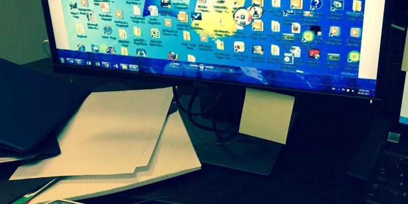 Messy desktop