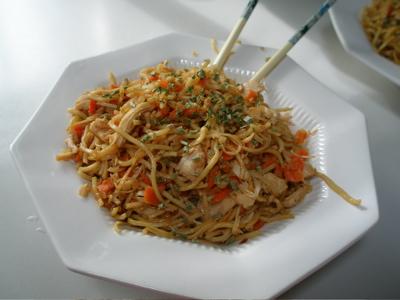 yakisoba pan fried noodles