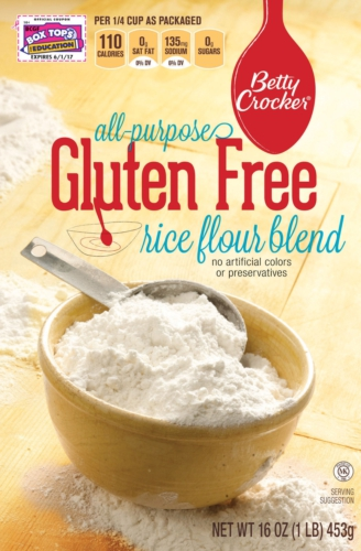 BETTY CROCKER GLUTEN FREE RICE FLOUR