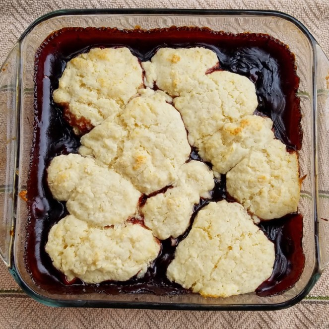 Easy to make Cherry Cobbler everyone will love