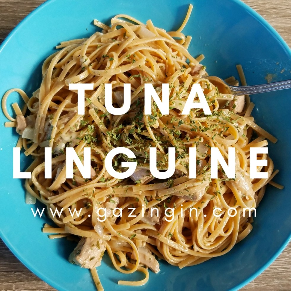 Tuna linguine a quick pasta dinner