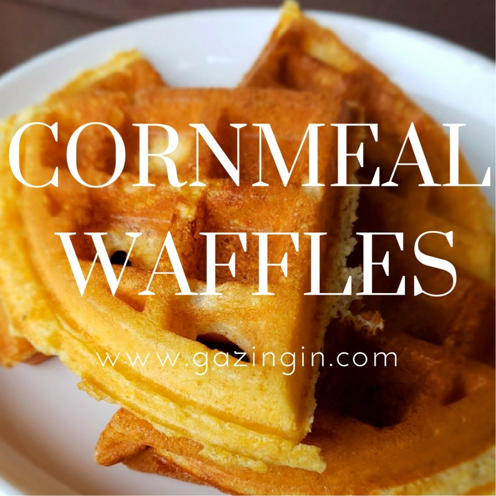 recipe: cornmeal waffles egg whites [24]